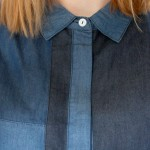 denim patchwork shirt 2