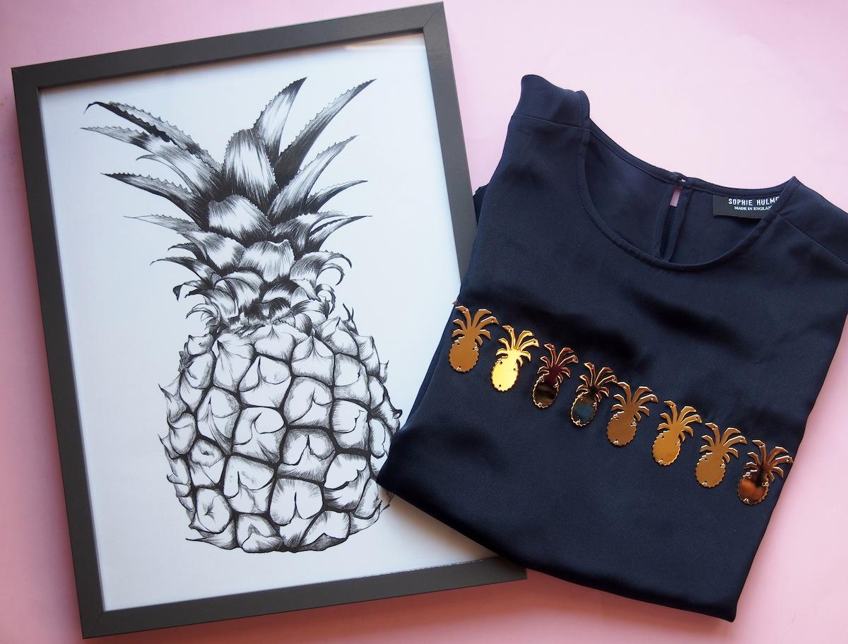 Ananas Print