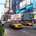 2. Den Times Square leuchten sehen
