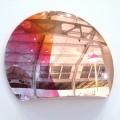 Blick auf die Blickfang: Spiegel von Studio Besau-Marguerre (3000 Euro!)