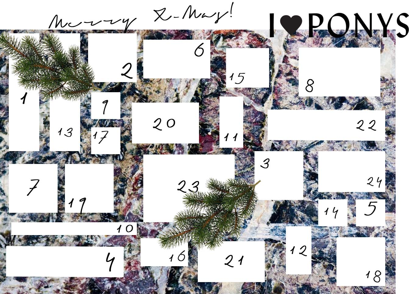I♥PONYS Adventskalender