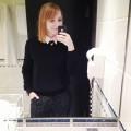 Badezimmer-Selfie mit Outfit von Tag 1