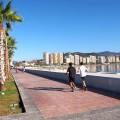 Die endlose Strandpromenade ist der perfekte Jogging-Spot!