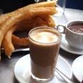 Churros, Kaffee und Schokosoße – yummy!