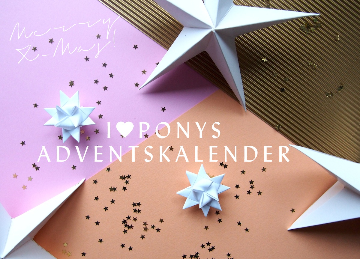 I love Ponys Adventskalender 2014