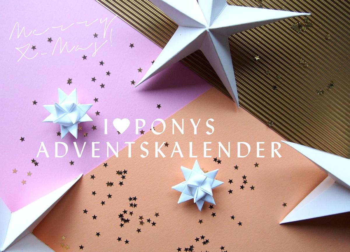 I love Ponys Adventskalender 2014