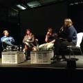 Danach dem Fashiontech-Panel gelauscht, moderiert von Mary Scherpe